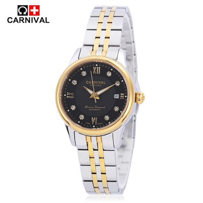 CARNIVAL 8605 Women Auto Mechanical Watch
