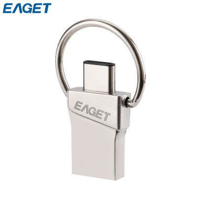 EAGET Type-C Disk Flash USB 3.0 OTG for Phones and Tablets