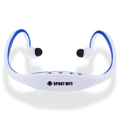 Portable Wearing Style Sport MP3 Player Headphone FM