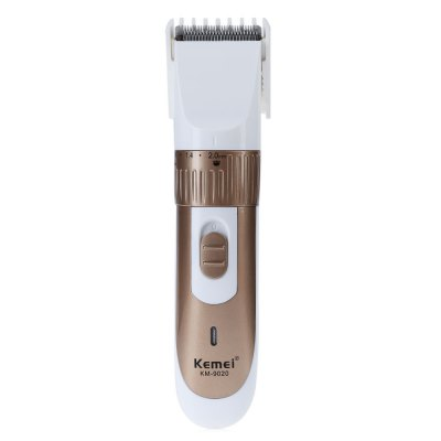 Kemei KM - 9020 Rechargeable Electric Adjustable Hair Clipper