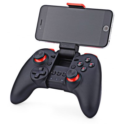 NEWGAME N1PRO Wireless Bluetooth Game Controller Joystick with Stretch Phone Bracket