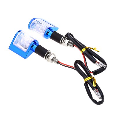 Pair of Motorcycle LED Turn Light Universal Signal Lamp