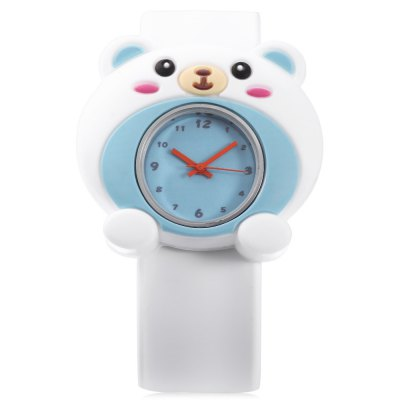 Cute Children Quartz Watch Polar Bear Case WristwatchKids Watches<br>Cute Children Quartz Watch Polar Bear Case Wristwatch<br><br>Band Length: 8.27 inch<br>Band Material Type: Silicone<br>Band Width: 22mm<br>Case Shape: Animal Shape<br>Dial Diameter: 0.95 inch<br>Dial Display: Analog<br>Dial Window Material Type: Plastic<br>Gender: Children<br>Movement: Quartz<br>Style: Simple<br>Product weight: 0.038 kg<br>Package weight: 0.059 kg<br>Product Size(L x W x H): 23.00 x 4.50 x 1.00 cm / 9.06 x 1.77 x 0.39 inches<br>Package Size(L x W x H): 24.00 x 5.50 x 2.00 cm / 9.45 x 2.17 x 0.79 inches<br>Package Contents: 1 x Children Watch