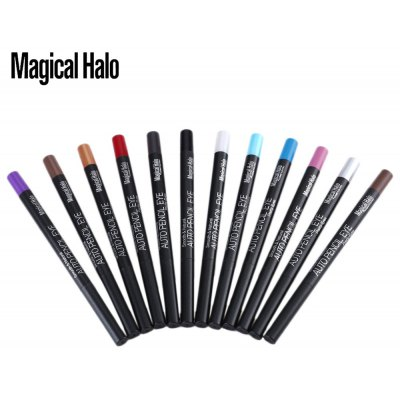 Magical Halo 12 Color Automatic Waterproof Eyeshadow Pencil