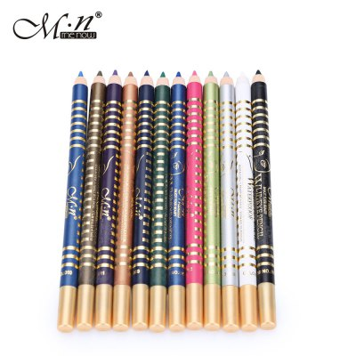 12 Color Waterproof Long Lasting Eyeliner