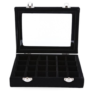 24 Grid High Grade Jewelry Pearl Villus Storage BoxNail Tools<br>24 Grid High Grade Jewelry Pearl Villus Storage Box<br><br>Item Type: Nail Art Tool Set<br>Product weight: 0.400 kg<br>Package weight: 0.412 kg<br>Product Size  ( L x W x H ): 20.00 x 15.00 x 5.00 cm / 7.87 x 5.91 x 1.97 inches<br>Package Size ( L x W x H ): 20.50 x 15.50 x 5.50 cm / 8.07 x 6.1 x 2.17 inches<br>Package Content: 1 x Nail Tip Storage Box