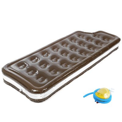 Inflatable Swimming Toy PVC Boat Chocolate Cream Float