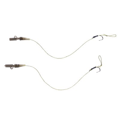 2pcs Carp Fishing Rig Camouflage Braid Line