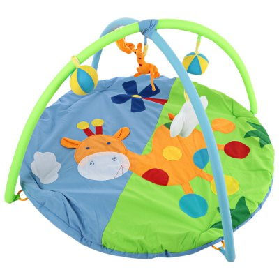 Baby Soft Play Mat Deer Crawling Blanket