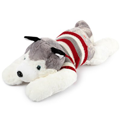 Lovely Huskie Dog Plush Doll Toy Christmas Gift
