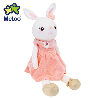 Metoo Tiramitu Soft Bunny Plush Doll Toy Christmas Gift