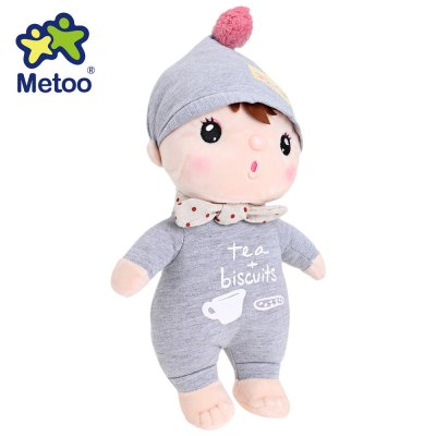 Metoo Cute Cartoon Plush Doll Toy Christmas Gift