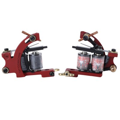 Complete Tattoo Kit 2 Tattoo MachinesTattoo Machines<br>Complete Tattoo Kit 2 Tattoo Machines<br><br>Coils: 10 Wrap Coils<br>Craft: Casting Machine<br>Item Type: shader / Liner<br>Material: Iron<br>Package Content: 2 x Tattoo Machine Gun, 1 x Tattoo Power Supply System, 10 x Needle, 1 x Stainless Steel Foot Pedal, 1 x Silicone Tattoo Clip Cord, 2 x Stainless Steel Tattoo Nozzle Tip, 1 x Power Cable, 2 x Aluminum<br>Package size (L x W x H): 21.50 x 11.00 x 14.00 cm / 8.46 x 4.33 x 5.51 inches<br>Package weight: 1.1942 kg<br>Power Type: Electric<br>Product weight: 1.1112 kg<br>Rotating Speed: 7200 Switch / Min for Liner, 6000 Switch / Min for Shader<br>Strat Voltage: 3 - 10V<br>Working Voltage: 5.5 - 8V