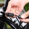 best Anti-theft 4 Digit Password Mountain Road Bike Cable Lock