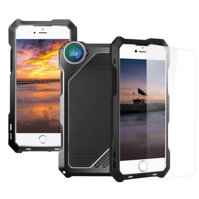 3 in 1 Kit Camera Lens Aluminum Case for iPhone 5 / 5S / SEiPhone Cases/Covers<br>3 in 1 Kit Camera Lens Aluminum Case for iPhone 5 / 5S / SE<br><br>Function: Anti-knock,Dirt-resistant,Water/Dirt/Shock Proof<br>Type: Case<br>Product weight: 0.058 kg<br>Package weight: 0.192 kg<br>Product Size(L x W x H): 13.40 x 6.60 x 1.00 cm / 5.28 x 2.6 x 0.39 inches<br>Package Size(L x W x H): 19.80 x 10.70 x 2.00 cm / 7.8 x 4.21 x 0.79 inches<br>Package Contents: 1 x Case, 1 x Fisheye Lens, 1 x 15X Macro Lens, 1 x Wide Angle Lens, 1 x Cross Screwdriver, 6 x Screw, 1 x Receive Bag, 1 x English User Manual
