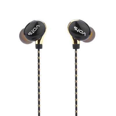 Vots Y1 3.5MM Plug HiFi Stereo Earphones Headphones
