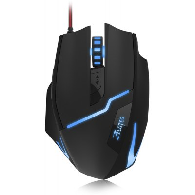 ZELOTES T10 Wired Optical Self-defining Gaming Mouse