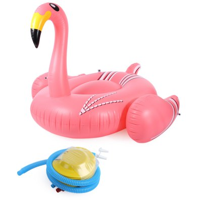 Swimming Inflatable Giant Rideable Flamingo Float