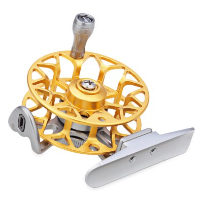 LEO HE50 Right Hand Full Metal Fly Fishing Reel