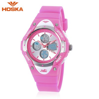 HOSKA HD024S Dual Movt Kids Sports Watch