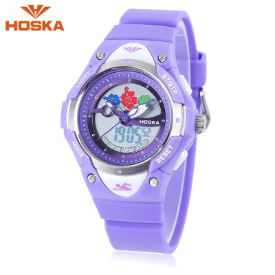 HOSKA HD023S Dual Movt Kids Watch