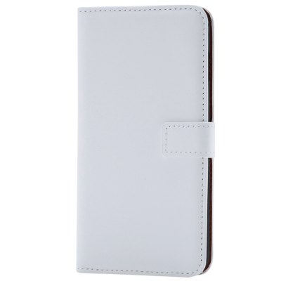 Simple Style Leather Wallet Protective Cover for iPhone 7 Plus 5.5 inch