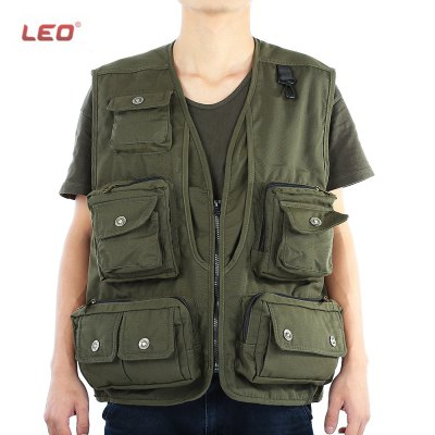 LEO Fishing Vest for Outdoor Activity