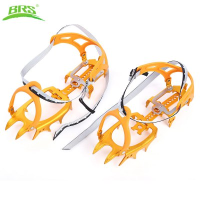 BRS Paired Ultralight Aluminum Alloy 14 Teeth Bundled Crampons