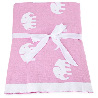 Knitting Baby Cotton Blanket / Bath Towel