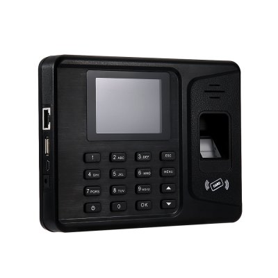 REALAND A - F261 Fingerprint Time Attendance RecorderOffice Electronics<br>REALAND A - F261 Fingerprint Time Attendance Recorder<br><br>Product weight: 0.245 kg<br>Package weight: 0.643 kg<br>Product Size(L x W x H): 17.00 x 13.50 x 3.00 cm / 6.69 x 5.31 x 1.18 inches<br>Package Size(L x W x H): 24.50 x 17.00 x 7.00 cm / 9.65 x 6.69 x 2.76 inches<br>Package Contents: 1 x Fingerprint Attendance, 1 x Power Adapter, 1 x USB Cable, 3 x Screw, 3 x Plastic Bolt, 1 x Siding, 1 x CD