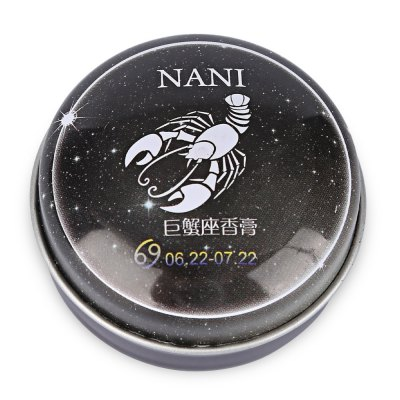 NANI 1pc Unisex Magic 12 Constellation Zodiac Solid PerfumeSkin Care<br>NANI 1pc Unisex Magic 12 Constellation Zodiac Solid Perfume<br><br>Gender: Female<br>Net weight(g/ml): 20<br>Item Type: Perfume<br>Product weight: 0.023 kg<br>Package weight: 0.038 kg<br>Product size (L x W x H): 5.50 x 2.50 x 2.50 cm / 2.17 x 0.98 x 0.98 inches<br>Package size (L x W x H): 6.00 x 6.00 x 2.50 cm / 2.36 x 2.36 x 0.98 inches<br>Package Content: 1 x Bottle of Solid Perfume
