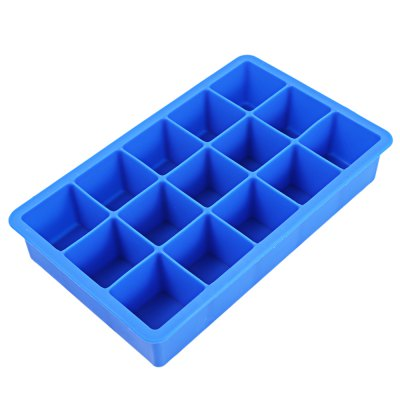 15 Cavity Ice Cube Tray Mold