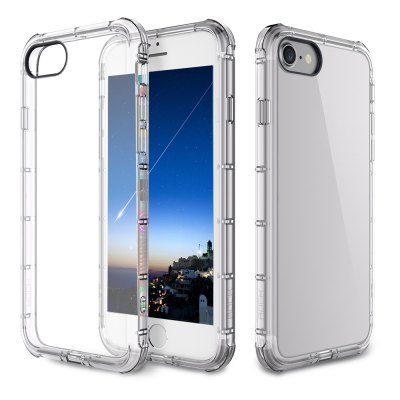 ROCK Fence Series Simple Style Protective Shell TPU Back Cover for iPhone 7 Plus