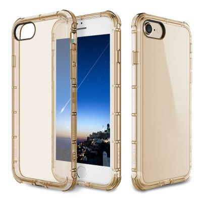 ROCK Fence Series Simple Style Protective Shell TPU Back Cover for iPhone 7