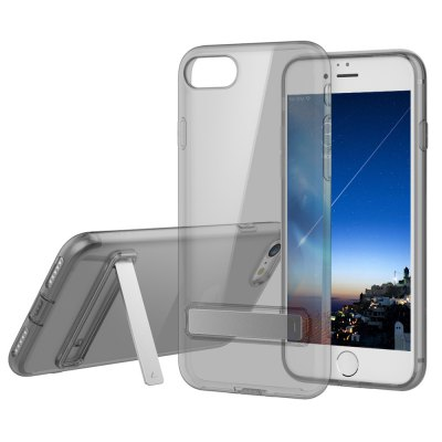 ROCK Ultra Thin TPU Slim with Kickstand Back Cover for iPhone 7