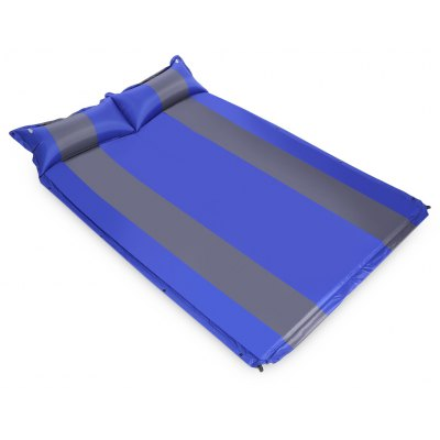 Automatic Inflatable Mattress with Pillow for Two Person