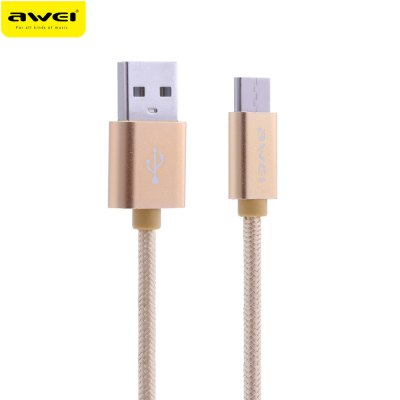 Awei CL - 960 1M USB 3.0 Type-C Nylon Braided Data Cable