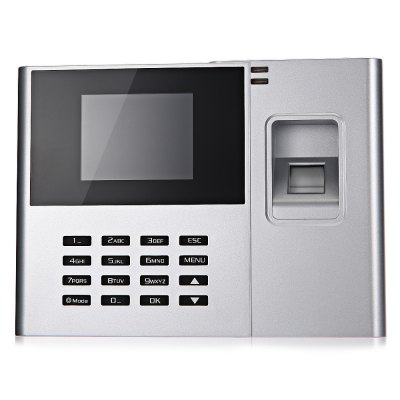 DANMINI N308 Fingerprint Time Attendance RecorderOffice Electronics<br>DANMINI N308 Fingerprint Time Attendance Recorder<br><br>Product weight: 0.287 kg<br>Package weight: 0.703 kg<br>Product Size(L x W x H): 19.00 x 14.00 x 3.50 cm / 7.48 x 5.51 x 1.38 inches<br>Package Size(L x W x H): 30.00 x 24.50 x 9.70 cm / 11.81 x 9.65 x 3.82 inches<br>Package Contents: 1 x Fingerprint Attendance, 1 x Siding, 1 x English User Guide, 1 x Power Adapter, 4 x Screw, 4 x Plastic Bolt