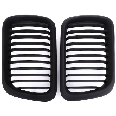 Pair of ABS Air Inlet Grille Protection