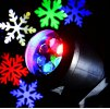 LED Snowflake Projector Lamp