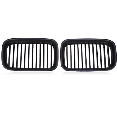 Pair of Automobile Plastic Grille for BMW