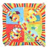 cheap Baby Play Mat Soft Cartoon Animal Gym Fitness Blanket
