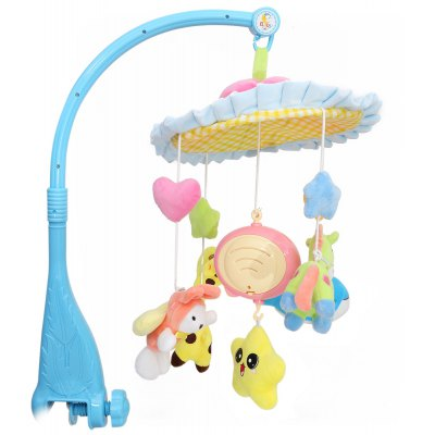 Colorful Baby Musical Rotating Mobile Rattle Toy