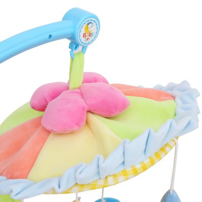 Colorful Infant Musical Rotating Mobile Rattle Toy