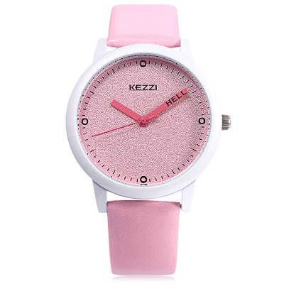 KEZZI K - 1459 Children Quartz WatchKids Watches<br>KEZZI K - 1459 Children Quartz Watch<br><br>Band Length: 7.88 inch<br>Band Material Type: Leather<br>Band Width: 16mm<br>Case material: Alloy<br>Case Shape: Round<br>Clasp type: Pin Buckle<br>Dial Diameter: 1.52 inch<br>Dial Display: Analog<br>Dial Window Material Type: Glass<br>Gender: Children<br>Movement: Quartz<br>Style: Simple<br>Product weight: 0.032 kg<br>Package weight: 0.053 kg<br>Product Size(L x W x H): 24.00 x 4.00 x 0.90 cm / 9.45 x 1.57 x 0.35 inches<br>Package Size(L x W x H): 25.00 x 5.00 x 1.90 cm / 9.84 x 1.97 x 0.75 inches<br>Package Contents: 1 x KEZZI K - 1459 Kids Quartz Watch