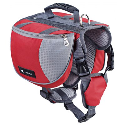 TAILUP Dog Hound Travel Backpack Saddle Bag
