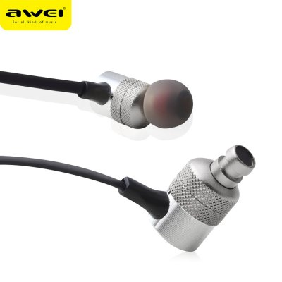 AWEI ES - 20TY 3.5MM Plug HiFi Music Earphones Headphones