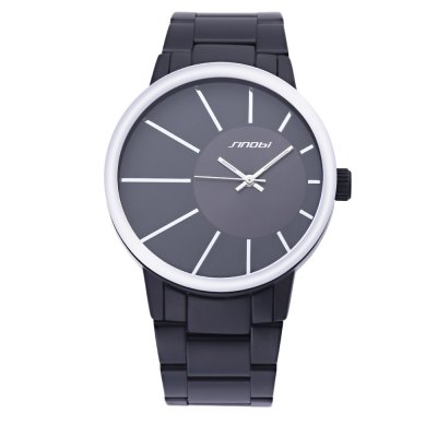 SINOBI 9338 Male Fashion Casual WatchMens Watches<br>SINOBI 9338 Male Fashion Casual Watch<br><br>Brand: Sinobi<br>Watches categories: Male table<br>Movement type: Quartz watch<br>Shape of the dial: Round<br>Display type: Analog<br>Case material: Stainless Steel<br>Band material: Stainless Steel<br>Clasp type: Sheet folding clasp<br>The dial thickness: 1.1cm / 0.433 inch<br>The dial diameter: 4.2cm / 1.65 inch<br>The band width: 2.3cm / 0.906 inch<br>Product weight: 0.102 kg<br>Package weight: 0.140 kg<br>Package size (L x W x H): 15.00 x 5.50 x 2.00 cm / 5.91 x 2.17 x 0.79 inches<br>Package Contents: 1 x Watch