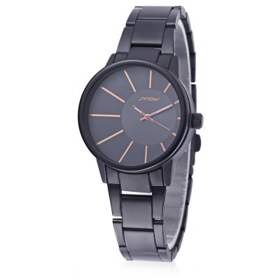 SINOBI 9338 Female Fashion Casual Watch with Alloy Strap