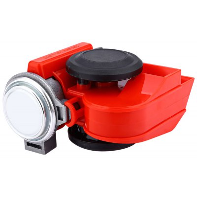 12 V Car Boat Electronic Horn Compact Dual Tone Siren